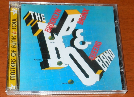 Cd - B.b. & Q Band - Brooklyn, Bronx & Queens - Remasters