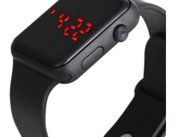 Kit Relógio Led Digital Touch Com Frete Grátis