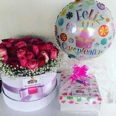Desayunos Sorpresa Anchetas Flores Rosas Preservadasadas R