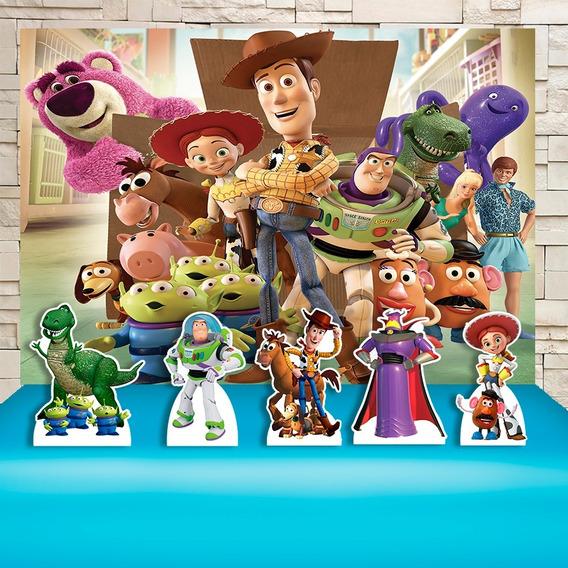 Kit Painel+display Festa Infantil Toy Story