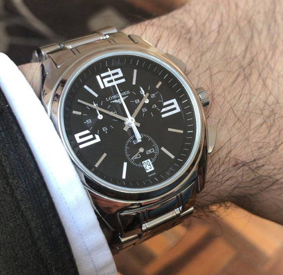 Reloj Longines Lungomare Cronógrafo 42 Mm