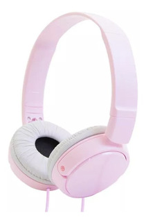 Auriculares 3.5 Mm Sony Plegables Super Bass Mdr-zx110 Rosa