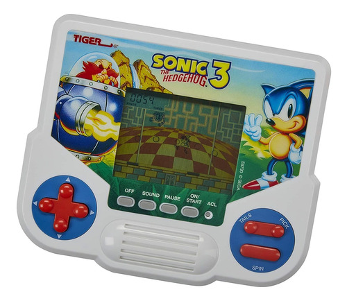 Tiger Electronics Sonic The Hedgehog 3 Electronic Lcd Video