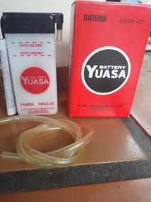 Bateria 6v Yuasa Original Nova !!
