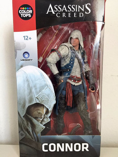 Assassin Creed Connor Mcfarlane Color Tops