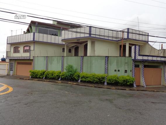 Sobrado A Venda No Bairro Parque São Vicente Em Mauá - Sp. - 647-1