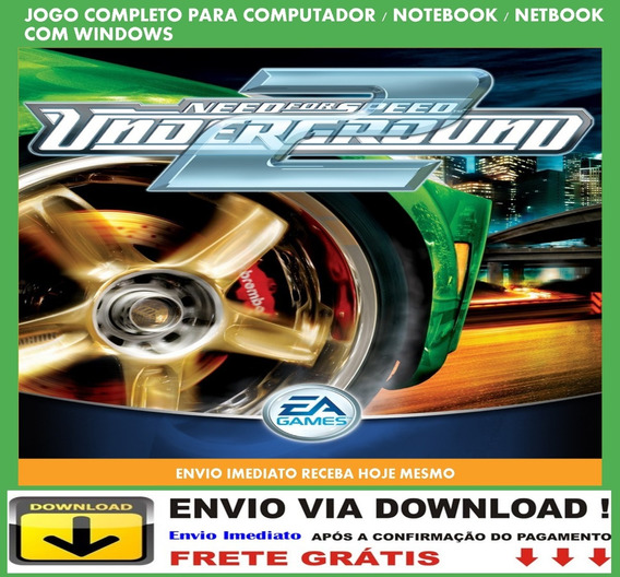 Need For Speed Underground 2 Pc Envio Digital Grátis