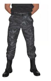 Calça Tática Camuflada Petroleo Black Militar Ripstop