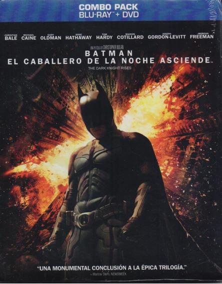 Batman El Caballero De La Noche Asciende Blu-ray + Dvd