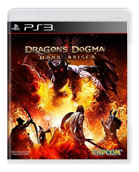 Dragons Dogma Dark Arisen Ps3 Mídia Física Pronta Entrega