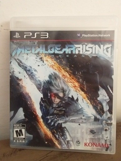 Jogo Metal Gearrising Revengeance Mídia Física Ps3