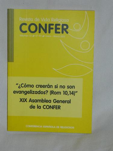 Confer  Vol. 52 No. 197. 2013. Conferencia Española Religión