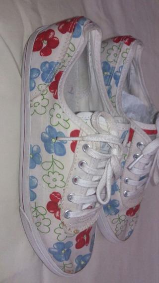 Tenis All Star Floral N.35