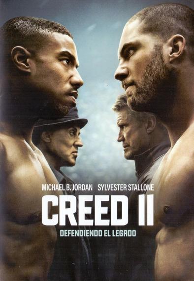 Creed 2 Dos Defendiendo El Legado Rocky Pelicula Dvd