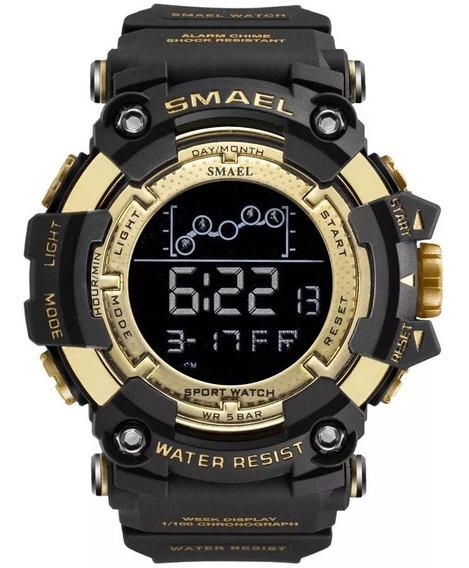 Relógio Militar Smael Digital Prova D