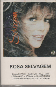 Fita K7 Novela Rosa Selvagem - 1987
