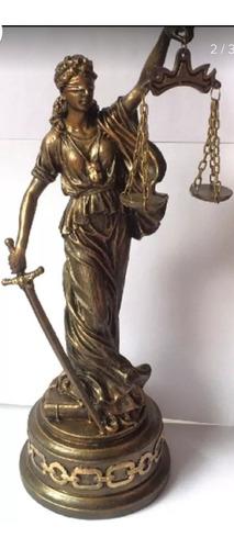 Dama De La Justicia Adorno Decoracion 20 Cm Oficina Despacho