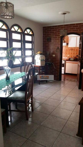 Imagem 1 de 19 de Sobrado Residencial À Venda, Jardim Três Marias, São Bernardo Do Campo. - So2354
