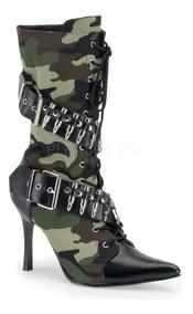 Botines Disfraz Militar Cosplay Funtasma Militant 128