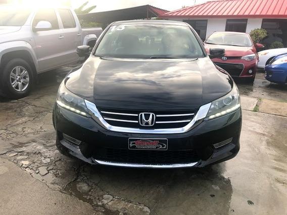 Honda Accord V6 Negro 2013