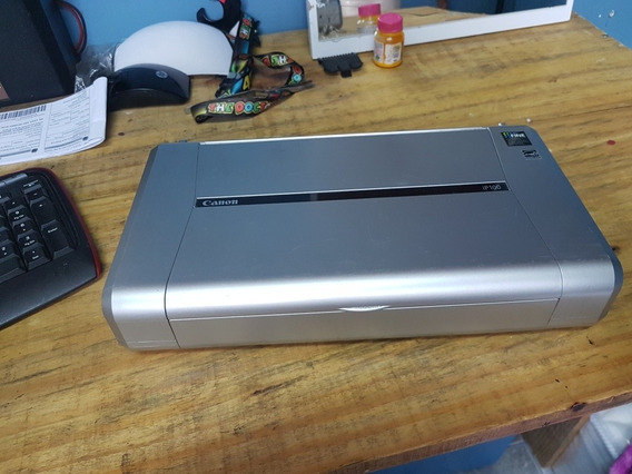 Impressora Fotografia Canon Pixma Ip100 - Nao Puxa Papel