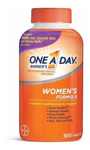 Multivitaminas One A Day Bayer Mujer 300 Tabletas Importadas
