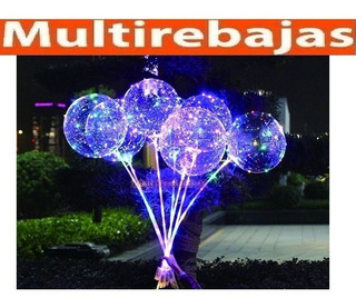 Globos Grandes Con Luces Led Ideal Para Una Decoracion Fiest