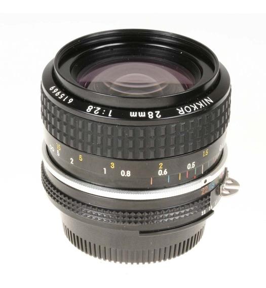 Objetiva Nikon Ai 28mm F2.8