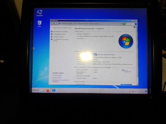 Computador Touch 15pol Atom D525 1.8/mem 2gb Ddr2/ssd120gb