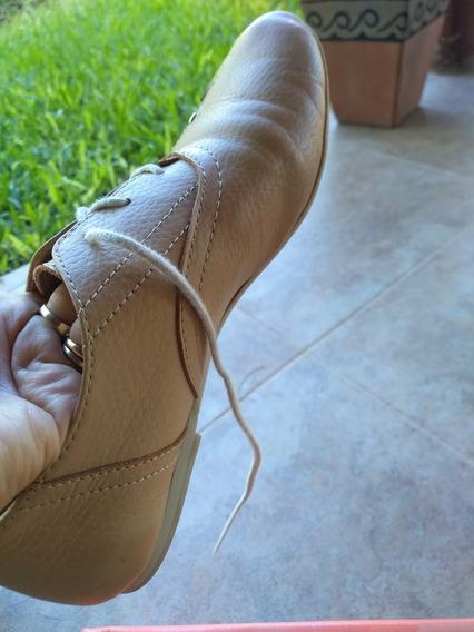 Zapato De Cuero