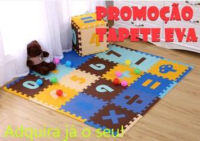 Tapete Infantil Eva Bebe Numeros 32 Peças Matematica Tatame