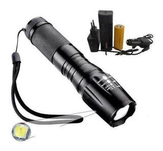 Lanterna Mini Tática Cree Led X900 T6 Lumens. 25000w