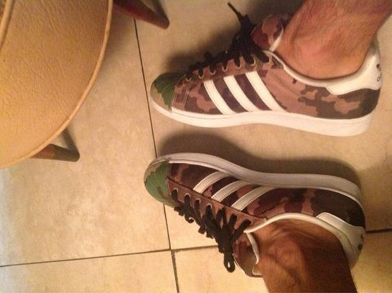 Zapatillas adidas Súper Star Importadas Talle 43