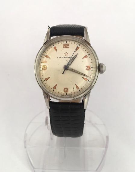 Relógio Nivel Do Omega, Automático, Da Famosa Marca Eterna, Impecável, Todo Assinado - 13 Anos No Mercado Livre