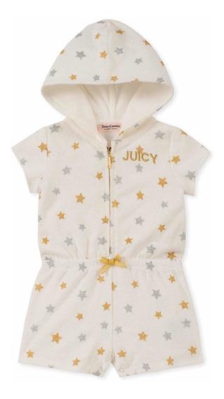 Juicy Couture Ropa Niña Short Jumpsuit Nuevo Original