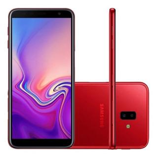Celular Smartphone Samsung Galaxy J6+ 64gb Ds 6.0 Vermelho