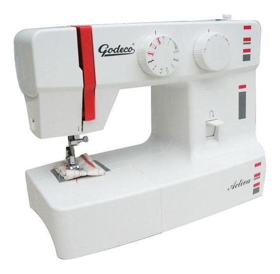 Máquina de coser Godeco Activa blanca 220V