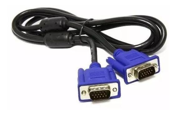 Cabo Vga Vga Para Monitor Lcd Pc Tv Led Projetor 1,8 Metros