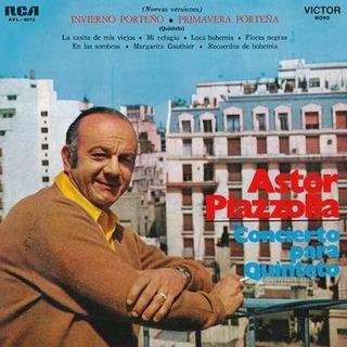Vinilo Astor Piazzola Concierto Para Quinteto Lp