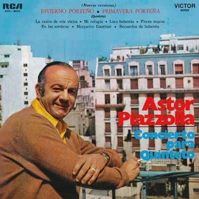 Vinilo Astor Piazzola Concierto Para Quinteto Lp Nuevo