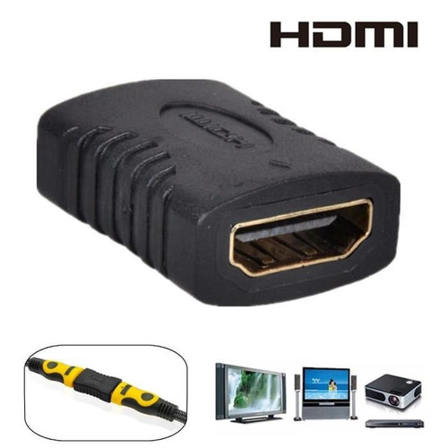 Imagen 1 de 4 de Conector Alargador De Cable Hdmi Pc Proyector
