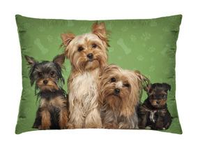 Travesseirinho Decorativo Cachorros 35cm X 26cm
