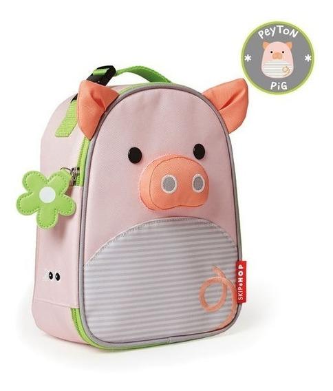 Lancheira Termica Escola Skip Hop Porquinha Porca,original