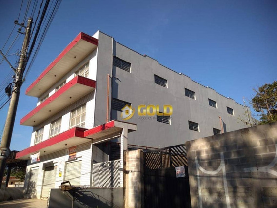Prédio Para Alugar, 1250 M² Por R$ 12.000,00/mês - Santa Cecília - Paulínia/sp - Pr0003