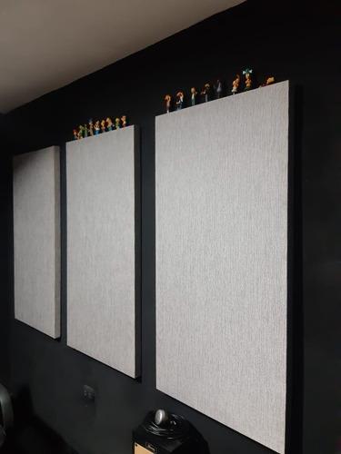 Panel Acústico De Lana De Roca 70kg/m3