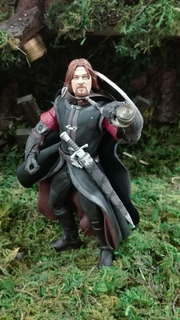 Lord Of The Rings Boromir Toy Biz Abierto