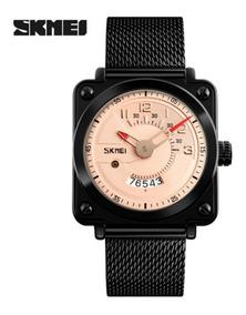 Relógio Masculino Skmei 9172 De Pulso Inox Original Promoção