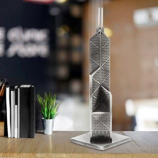 World Famoso Arquitectura Banco Of China Torre Modelo Mueble