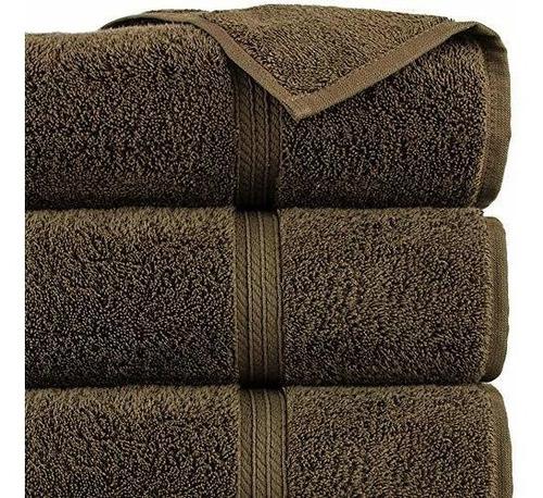 50x90cm 85x150cm Juego de toallas TAC de 4 piezas ducha absorbente premium y toalla de ba/ño de algod/ón de secado r/ápido con motivos de flores de punto de calidad hecha en Turqu/ía Karina - Polvo