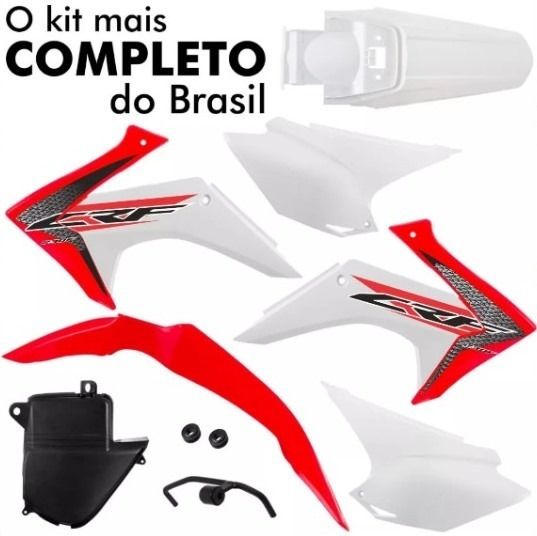 Kit Plásitco Protork Original Crf230 2015-2018